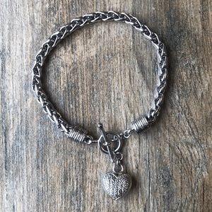 Jewelry - Kay Jewelers Diamond Heart Bracelet